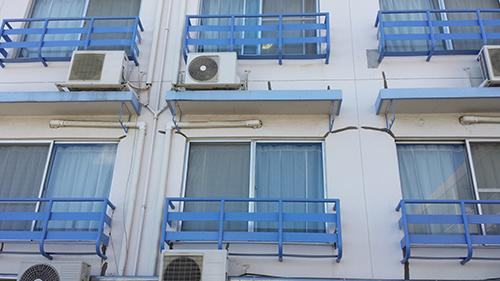 2013年9月3日 横浜市保土ヶ谷区新井町にて鉄部塗装:鉄窓
