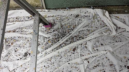 2013年9月8日 旭区さちが丘での塗装:ケレンカス