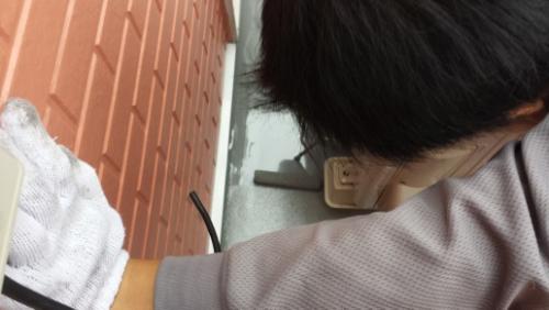 2013年10月22日 横浜市南区堀ノ内 防水:平面トップコート