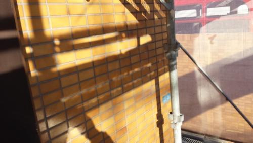 2014年1月16日 ホルツハイム妙蓮寺:看板の場所が綺麗に
