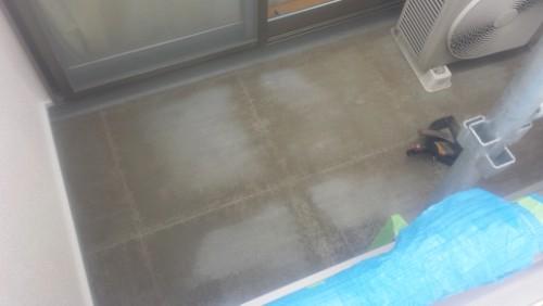 2014年3月10日 川崎市多摩区:防水・タイル撤去後