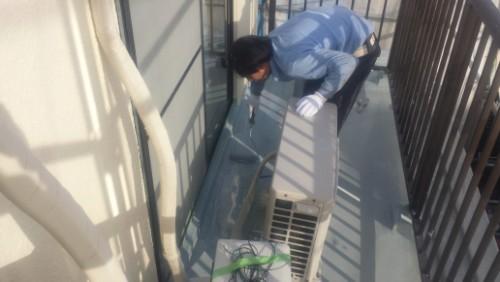 2014年3月22日 旭区市沢町:防水・ウレタン2層目