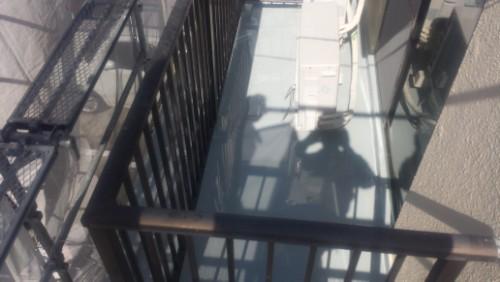 2014年3月23日 旭区市沢町:ウレタン防水2層目完了