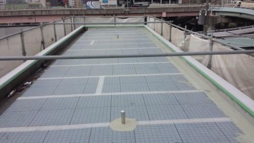 2014年4月14日 神奈川区:屋上防水施工全景