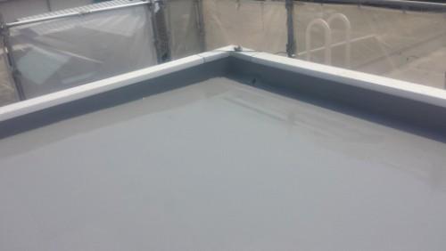 2014年4月19日 神奈川区:屋上防水トップコート塗布後2