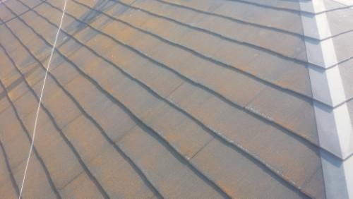 2014年4月26日 旭区鶴ヶ峰:洗浄前の屋根