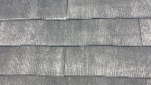 2014年4月26日 旭区鶴ヶ峰:洗浄後の屋根拡大