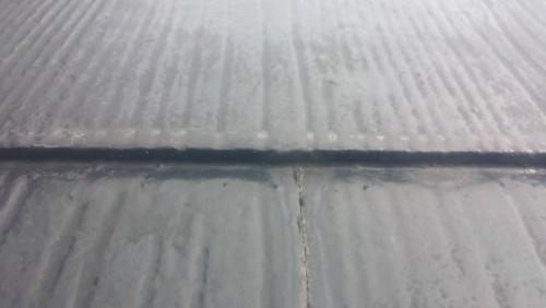 鎌倉市津:屋根縁切り前