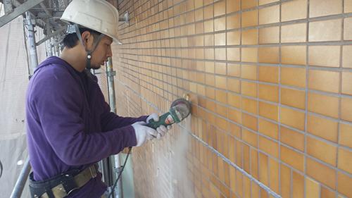 2014年1月17日 港北区マンション改修:電動工具1
