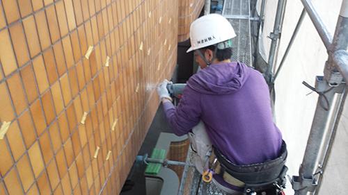 2014年1月17日 港北区マンション改修:電動工具2