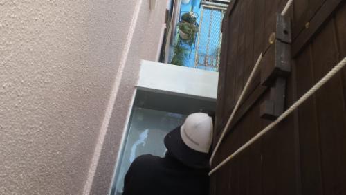 2014年1月21日 神奈川区の防水工事:ウレタン1層目
