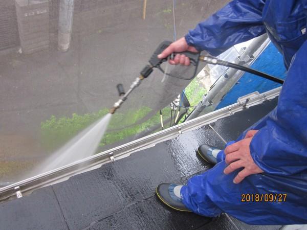 ジェット水流の高圧洗浄