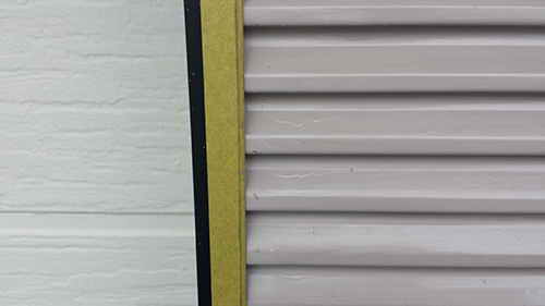 2013年7月31日 南区六ッ川にて外壁塗装:雨戸塗装前
