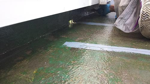 2013年10月31日 横浜市瀬谷区防水:バッカー