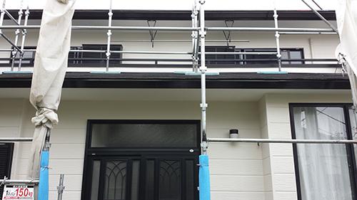 2013年7月31日 南区六ッ川にて外壁塗装:完成