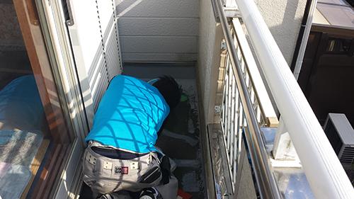 2013年10月31日 横浜市瀬谷区防水:隅施工