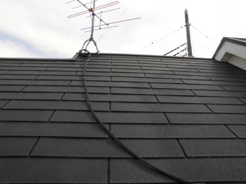 2014年3月4日 栄区公田町:屋根洗浄後