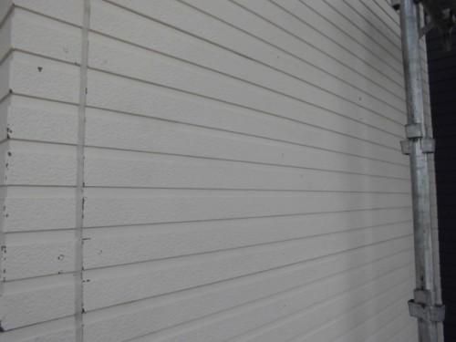 2014年3月4日 栄区公田町:サイディング外壁洗浄後