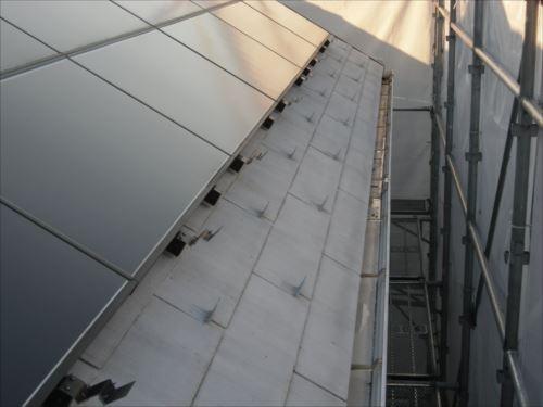 川崎市麻生区:屋根の鉄粉02