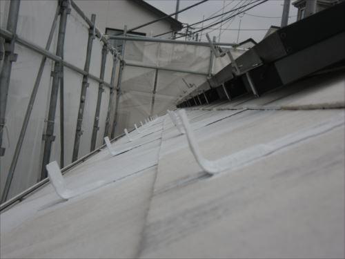 川崎市麻生区:雪止め下塗り