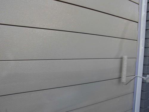 2014年1月31日 神奈川区白幡向町:シャッター中塗り