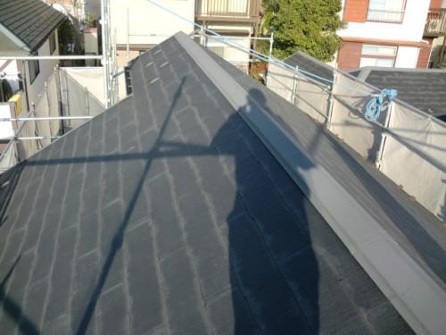 2014年1月31日 戸塚区南舞岡:屋根塗装前