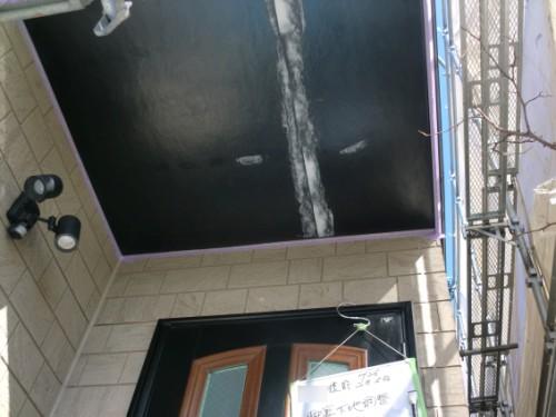 2014年2月5日 戸塚区南舞岡:軒裏下地調整後