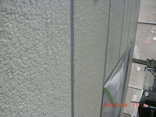 横浜市神奈川区:ALC外壁シーラー下塗り中