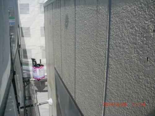 横浜市神奈川区:ALC外壁シーラー下塗り中2