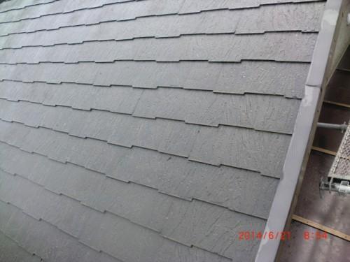 横浜市戸塚区:洗浄後の屋根
