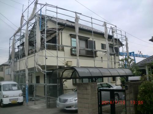 横浜市戸塚区:塗装完了後