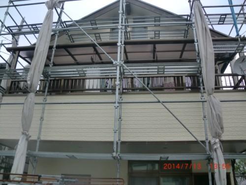横浜市戸塚区:塗装完了後2