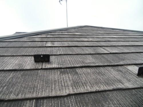 2014年2月3日 青葉区梅が丘:コロニアル屋根洗浄後2