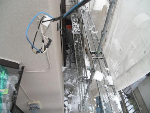 2014年2月10日 港北区新吉田東:除雪作業2