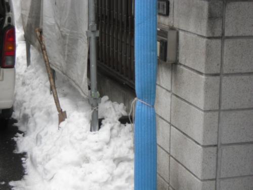 2014年2月10日 港北区新吉田東:除雪作業3