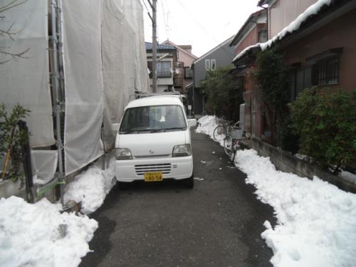 2014年2月10日 港北区新吉田東:除雪作業4