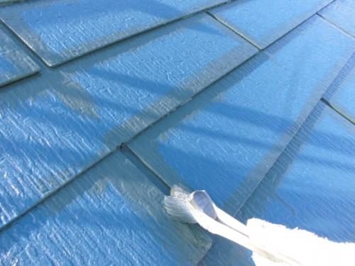 2014年3月7日 川崎市多摩区:屋根上りダメ込み