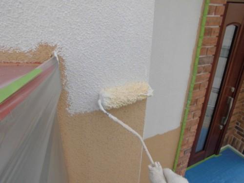 2014年3月10日 川崎市多摩区:1F外壁下塗り