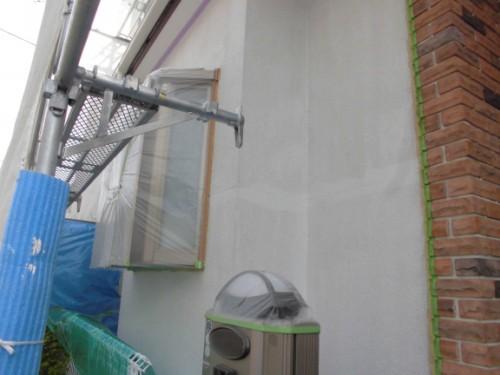 2014年3月10日 川崎市多摩区:1F外壁下塗り後