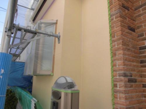2014年3月11日 川崎市多摩区:2F中塗り完了