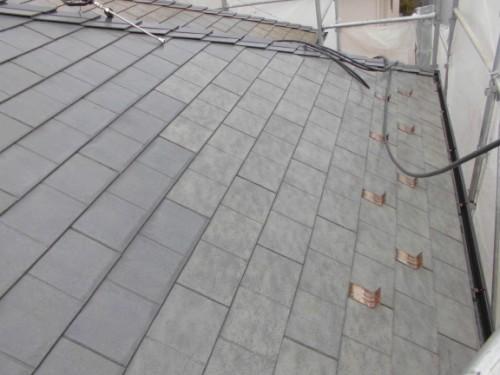 茅ヶ崎市矢畑:洗浄後の屋根