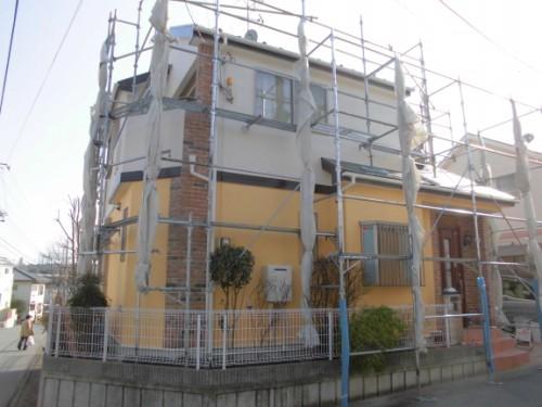 2014年3月17日 川崎市多摩区:施工完了2