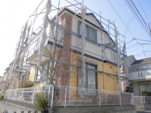 2014年3月17日 川崎市多摩区:施工完了3
