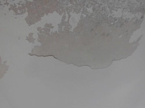 2014年3月12日 栄区公田町:軒の塗膜剥離