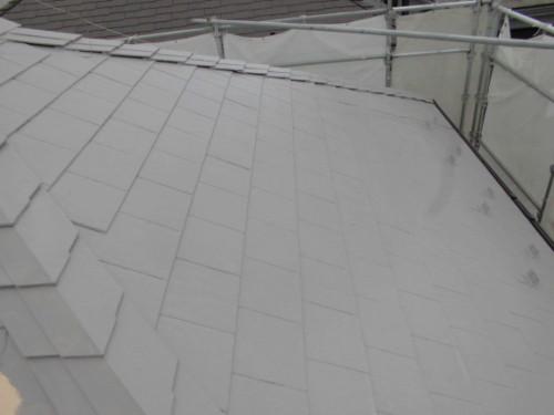 茅ヶ崎市矢畑:屋根断熱上塗り1回目3