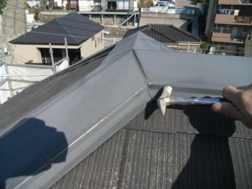 旭区鶴ヶ峰本町:屋根のクギ打ち直し