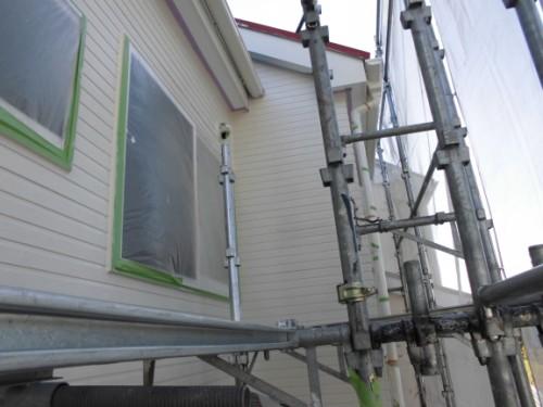 2014年3月15日 栄区公田町:外壁中塗り完了後2