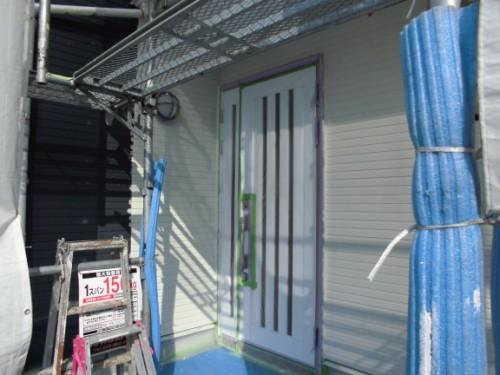 2014年3月18日 栄区公田町:外壁上塗り完了