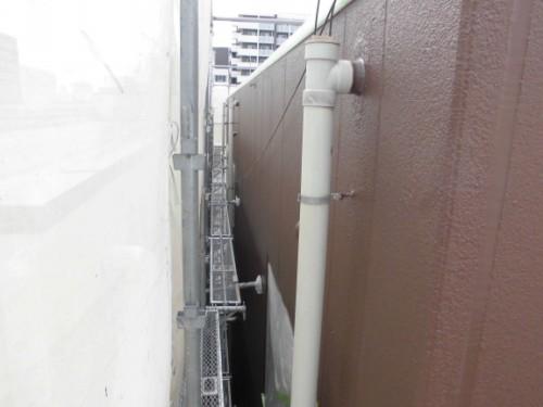 横浜市神奈川区:ALC外壁上塗り完了後2