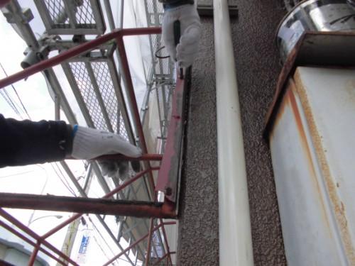 横浜市神奈川区:テントの設置